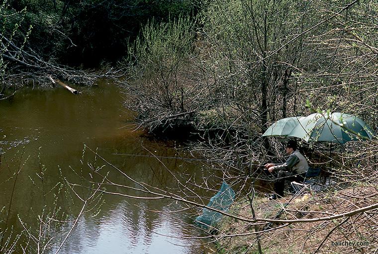 ловля матчевой удочкой с поплавком стик
