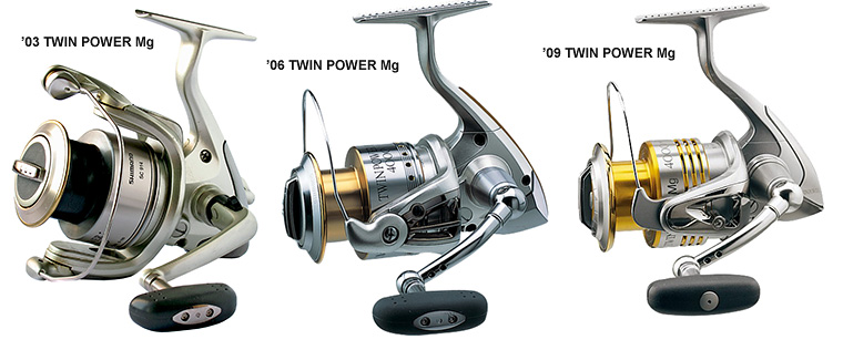 разные поколения Twin Power Mg