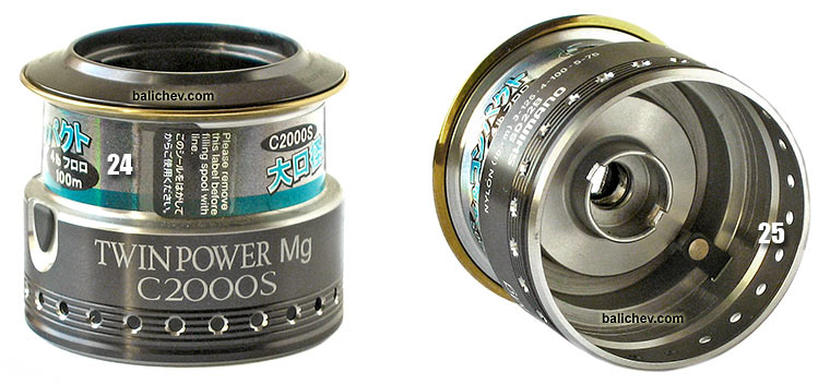 shimano 06 twin power mg spool