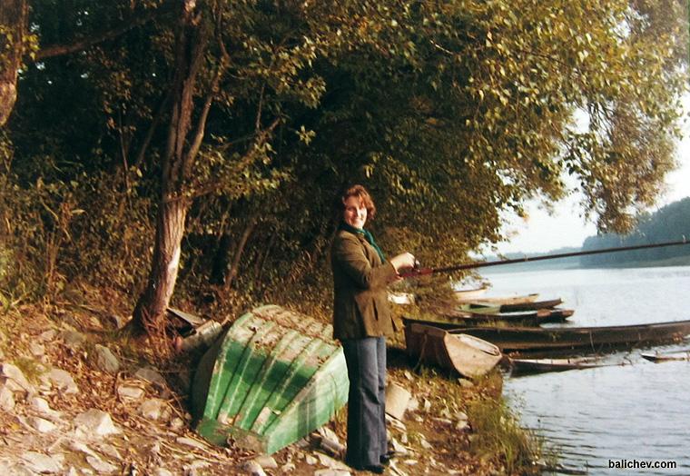 рыбалка 70-х годов