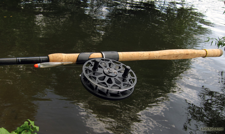Nelma centre-pin reel for float fishing