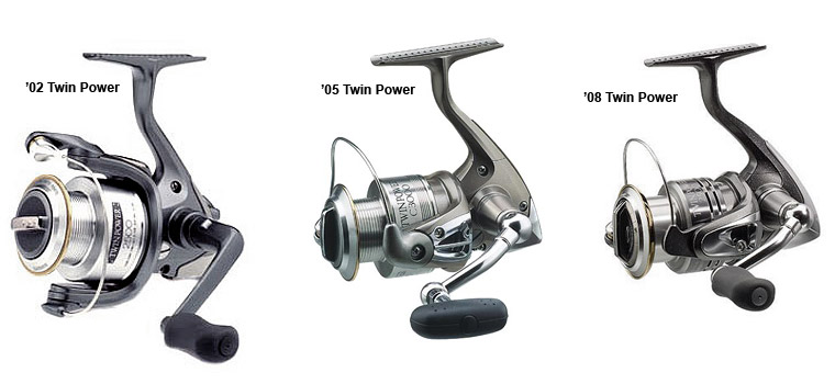 shimano twin power 02 05 08