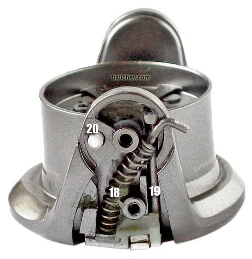 shimano 05 twin power bail mechanics