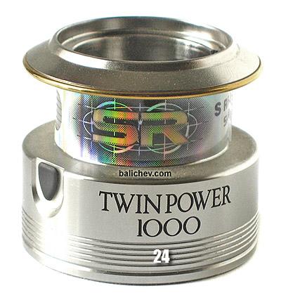 shimano 05 twin power spool