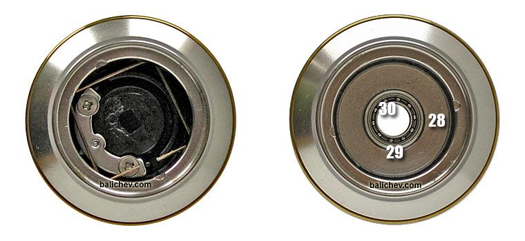 shimano 05 twin power spool & drag