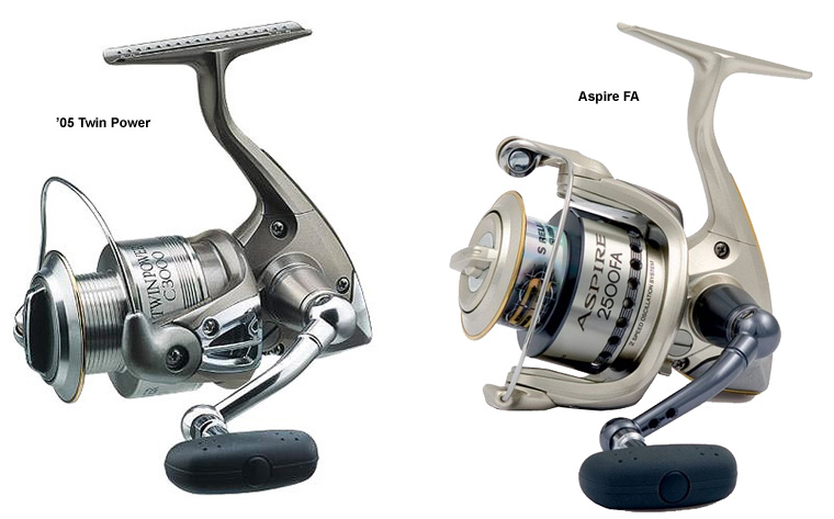 shimano 05 twin power aspire FA