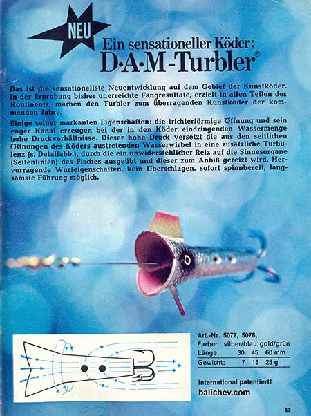 dam turbler