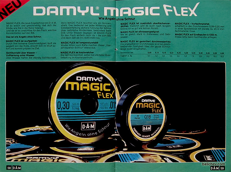 damyl magic flex 1980