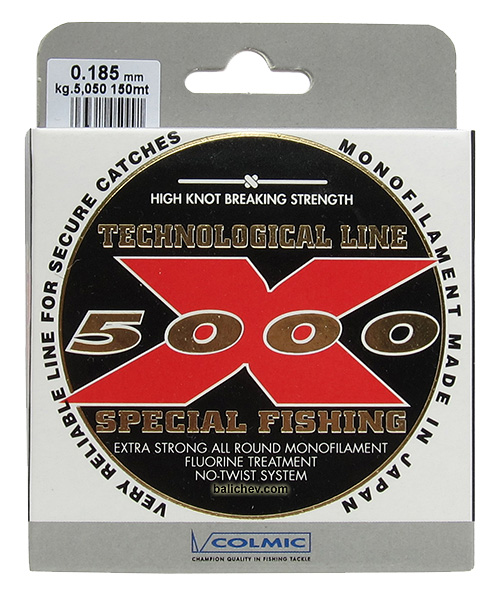 colmic x5000 fishing line