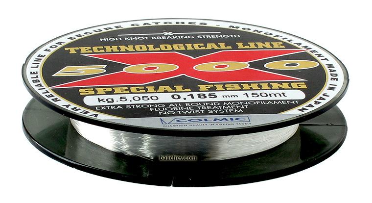 colmic x5000 леска