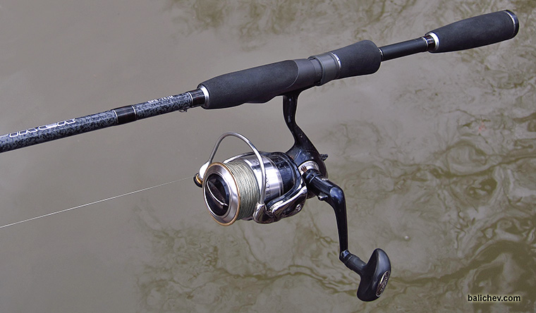 daiwa 04 certate 2500 in action