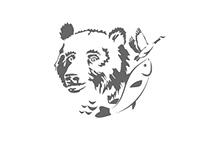 выставочный медведь обалдел от светлого будущего