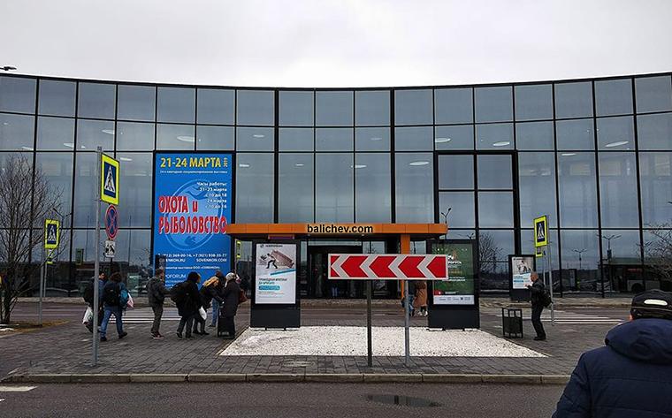 рыболовная выставка петербург павильон