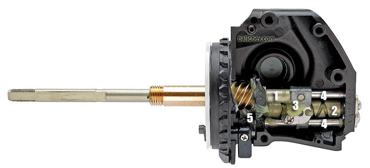 stradic ci4 oscillation gear