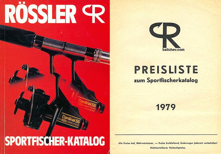 Rössler 1979 Katalog