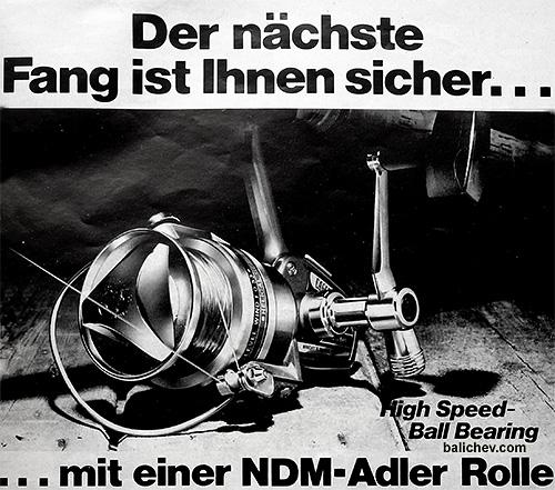 NDM Adler rolle