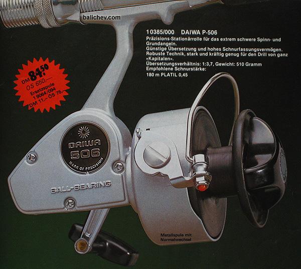 daiwa 506 spinning reel