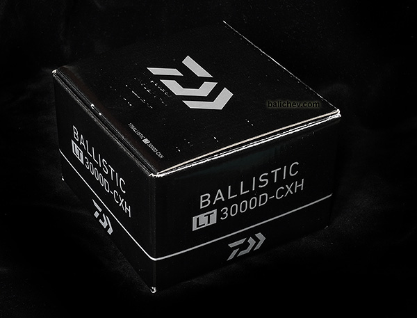 daiwa ballistic lt коробка box