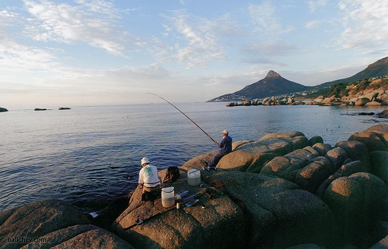 рыбалка в кейптауне