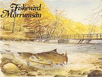 шведская рыболовная открытка