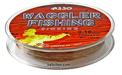 asso waggler sinking line