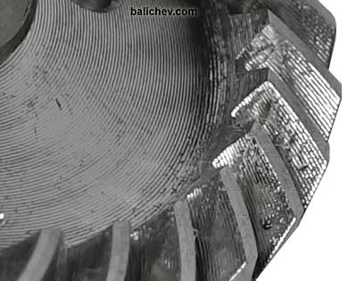 daiwa ballistic LT ведущая шестеня