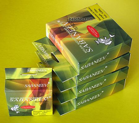 Sabaneev Tenzor леска в коробках