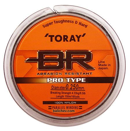 леска toray br pro type nylon