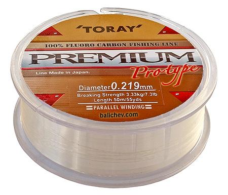 toray premium fluorocarbon леска