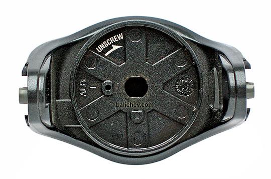 shimano 06 sephia ротор сверху