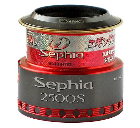 shimano 06 sephia шпуля