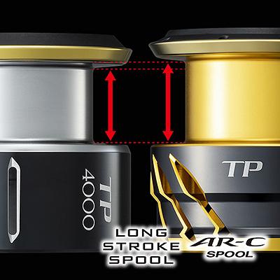 shimano long stroke spool