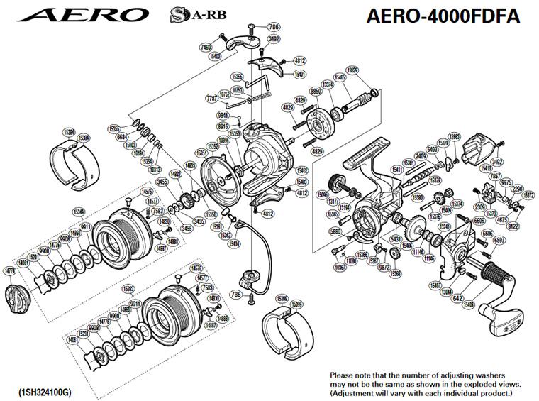 shimano aero feeder 4000 fa