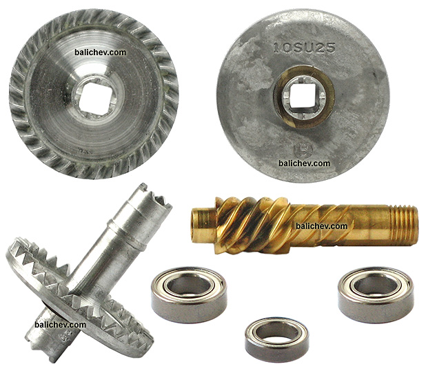 shimano 10 nasci 2500s gears