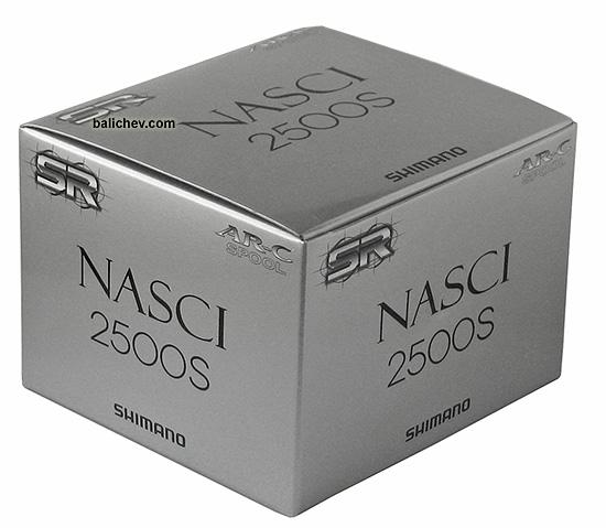 shimano 10 nasci 2500s коробка
