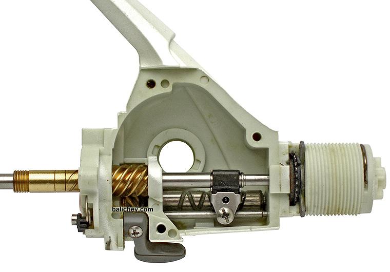 shimano stradic gtm 1997 система подачи шпули