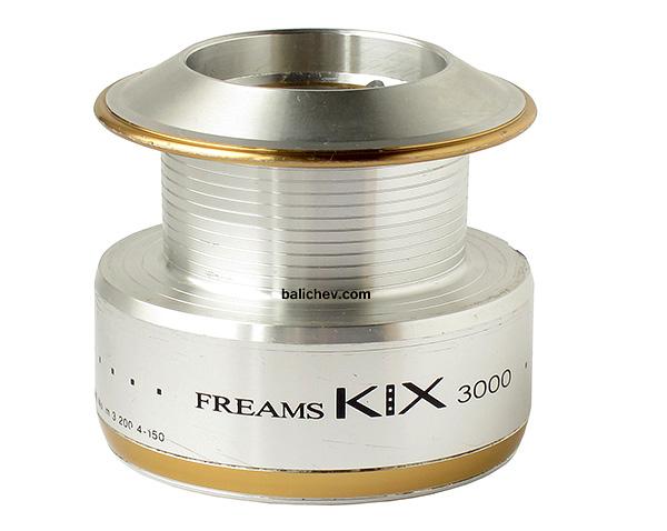 daiwa freams kix 3000 spool