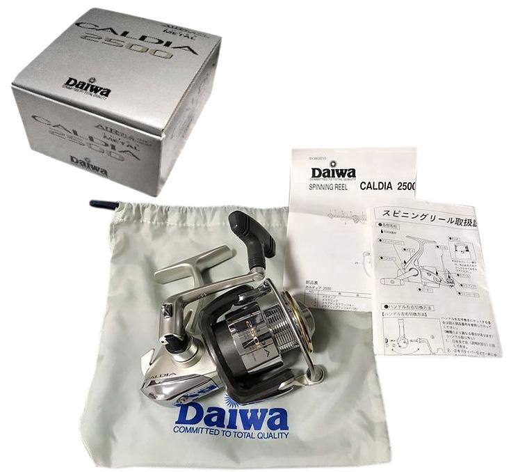 daiwa 02 caldia коробка