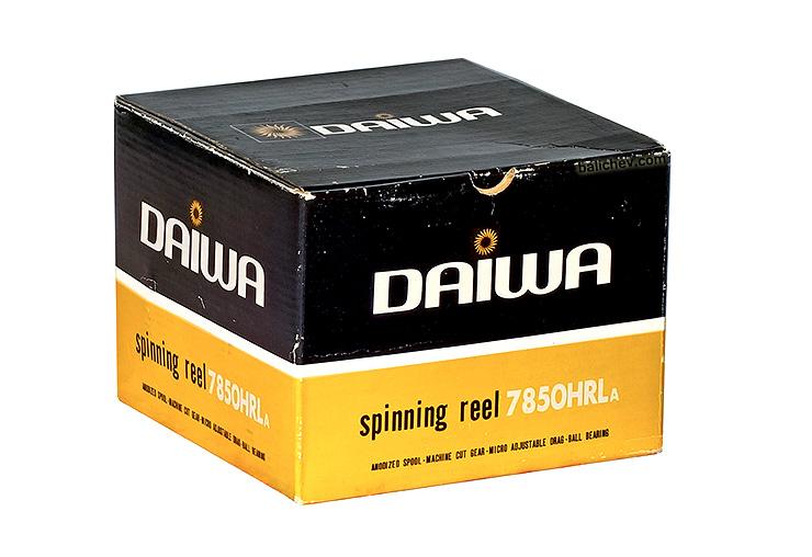 daiwa 7850hrla box
