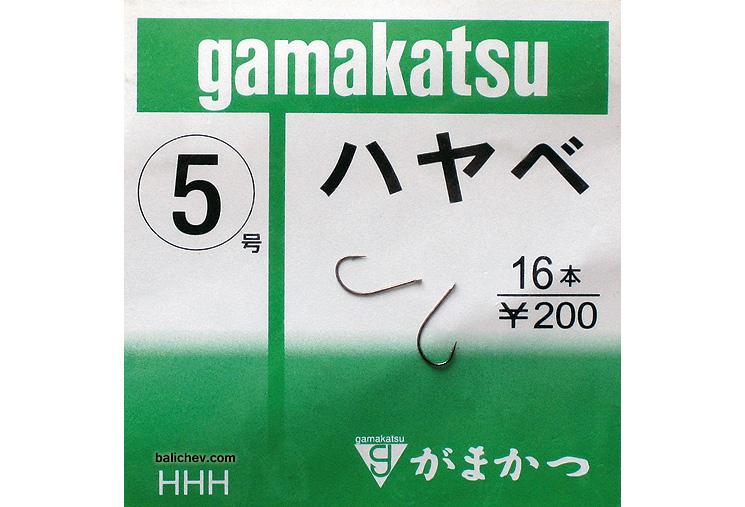 крючки gamakatsu hayabe