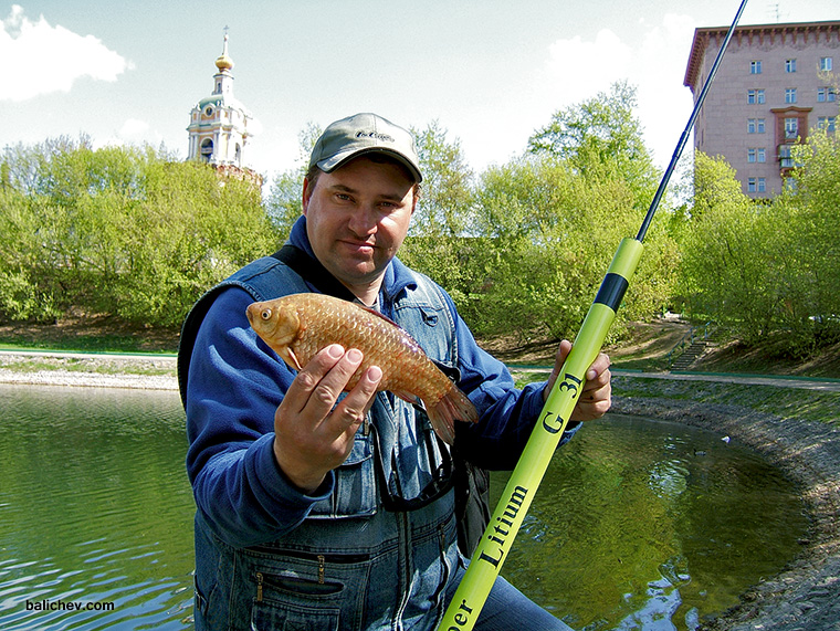 карась из Новоспасского пруда