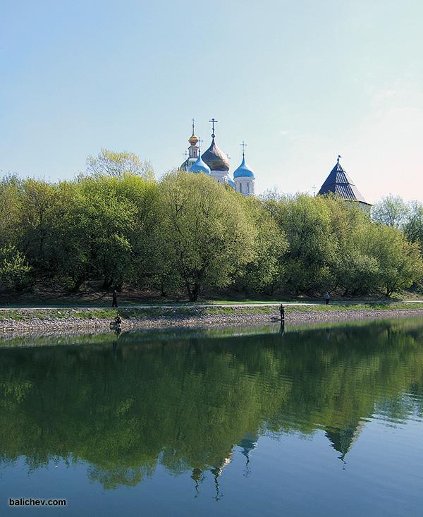 рыбалка на Новоспасском пруду
