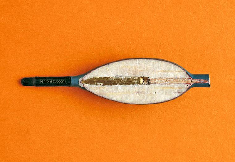 onion waggler в разрезе