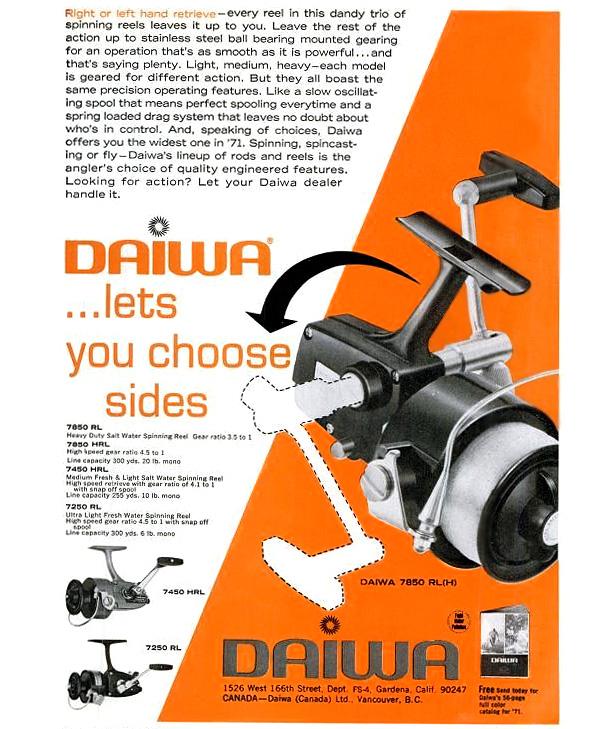 daiwa 7850hrla реклама