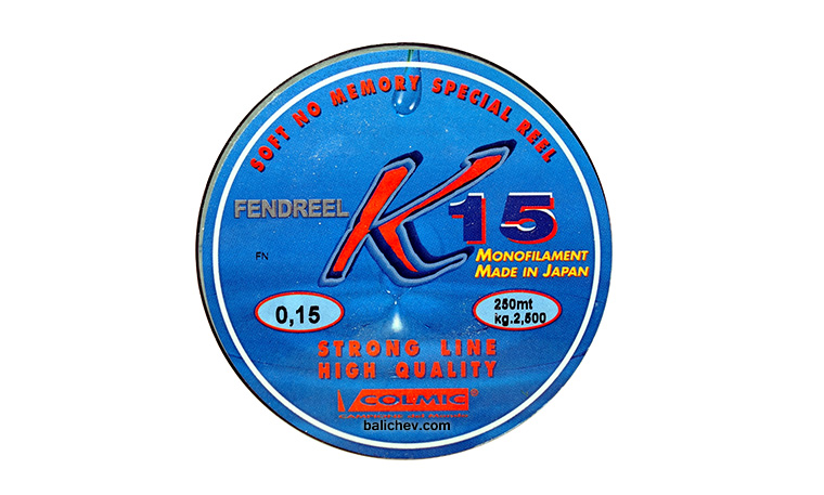 colmic k15 monofilament japan