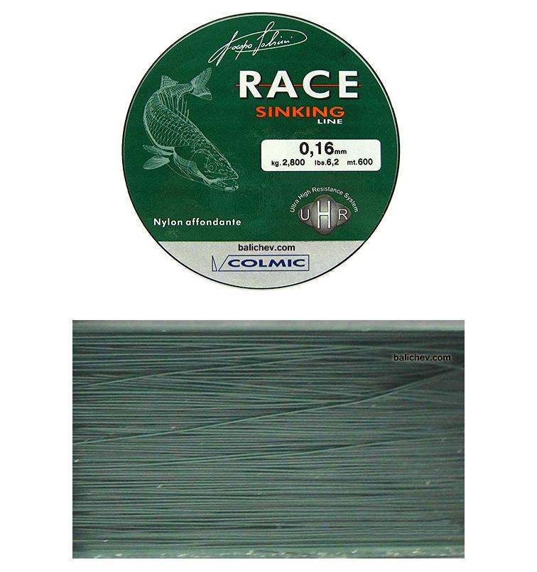 colmic race sinking тонущая леска