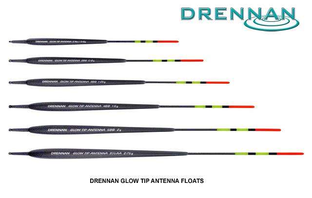drennan Glow Tip Antenna floats