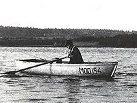 лодка кефаль на рыбалке