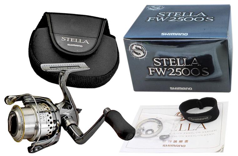 shimano 01 stella FW комплектация