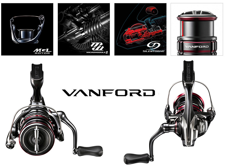 shimano 20 vanford technologies